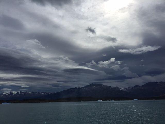 Ciel de Patagonie février 2016