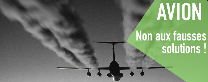 Pétition : le secteur aéronautique doit réduire ses émissions, pas les compenser !