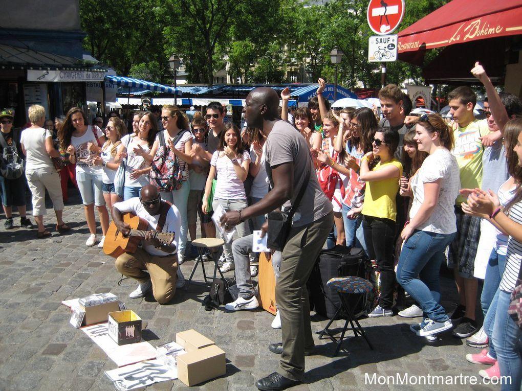 Presteej à Montmartre en 2012 !
