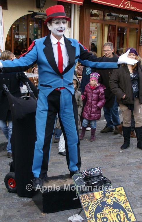 Mime Paul à Montmartre