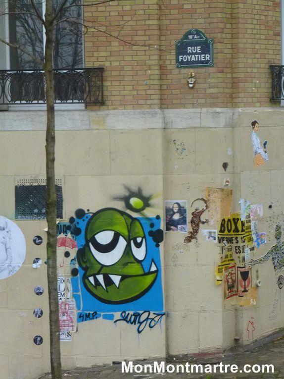 Tags et graffitis : vers le street-art de Montmartre ?