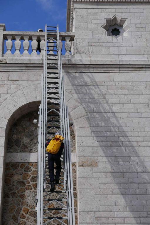 Ascension des réservoirs par les sapeurs pompiers de Paris en 2016