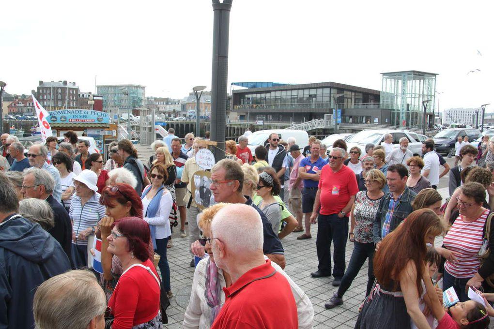 150 manifestants à Dieppe contre l'austérité, en Grèce comme en France, et partout dans le monde