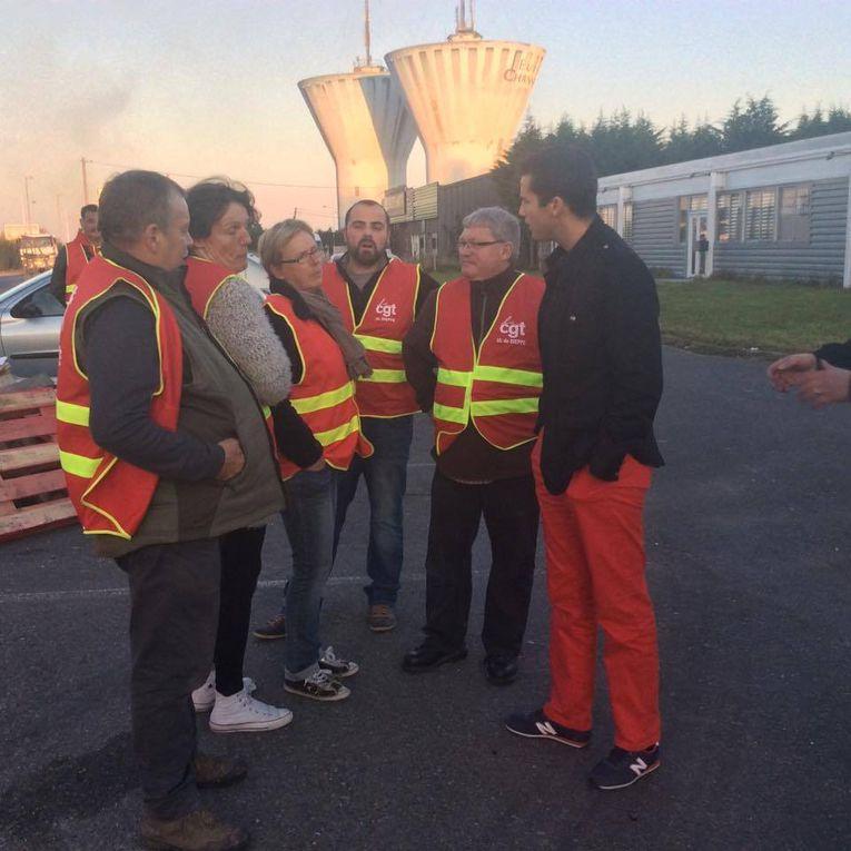 Dieppe Diffusion Presse: blocage pour la défense de l'emploi