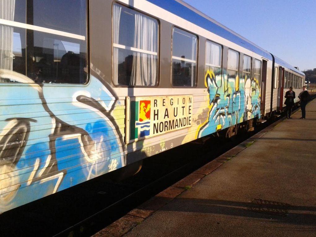 Ligne SNCF Dieppe-Rouen: toujours et encore les trains poubelles !