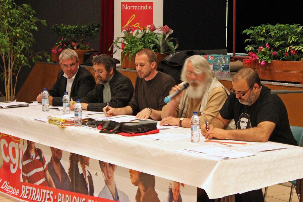Congrès: Union locale de Dieppe les 12 et 13 avril 2011