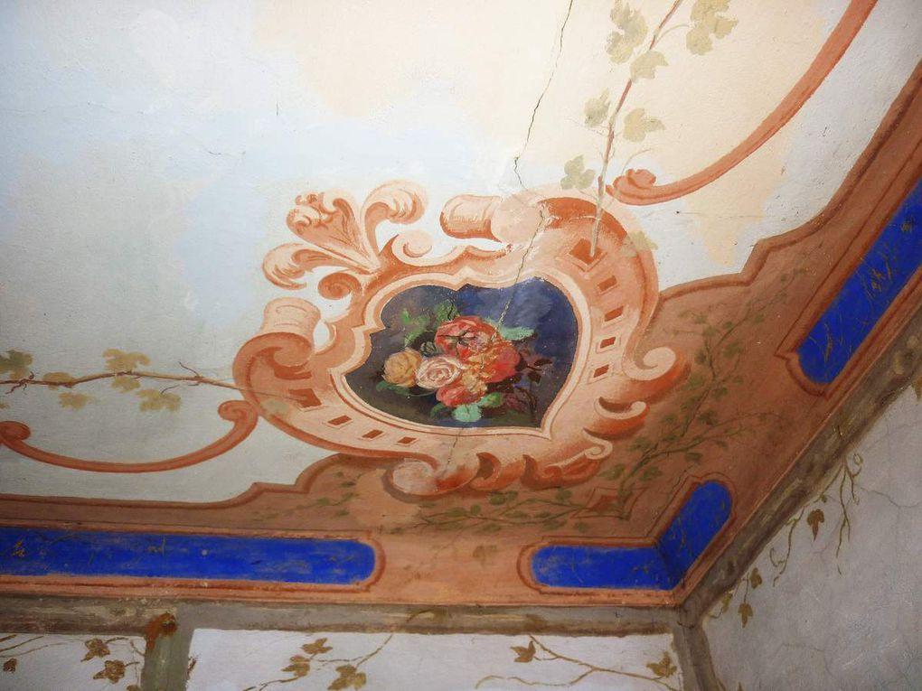 Plafond de la pièce