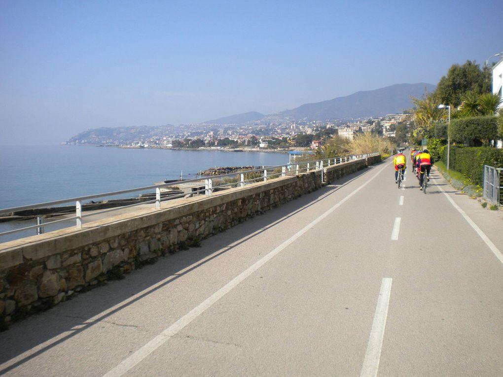 Sortie du Mardi en Italie la cyclable de San Remo