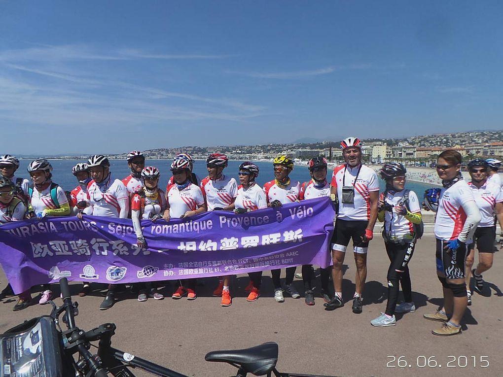les Cyclos Chinois sur la Cote d'Azur