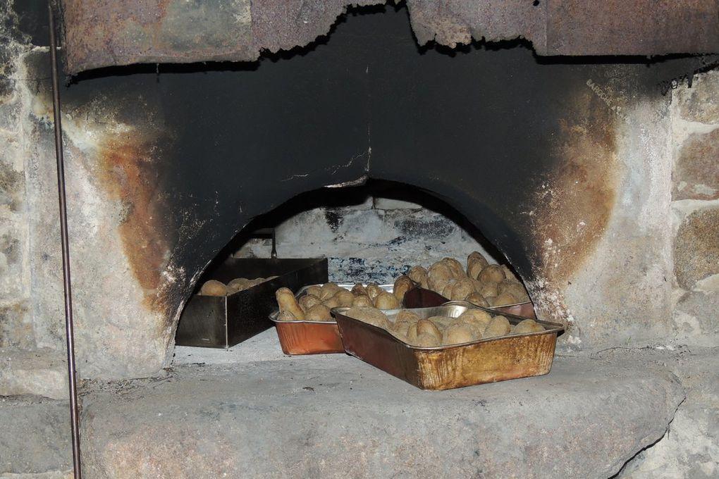 Au four n°2 : pommes de terre, caillettes et taburou