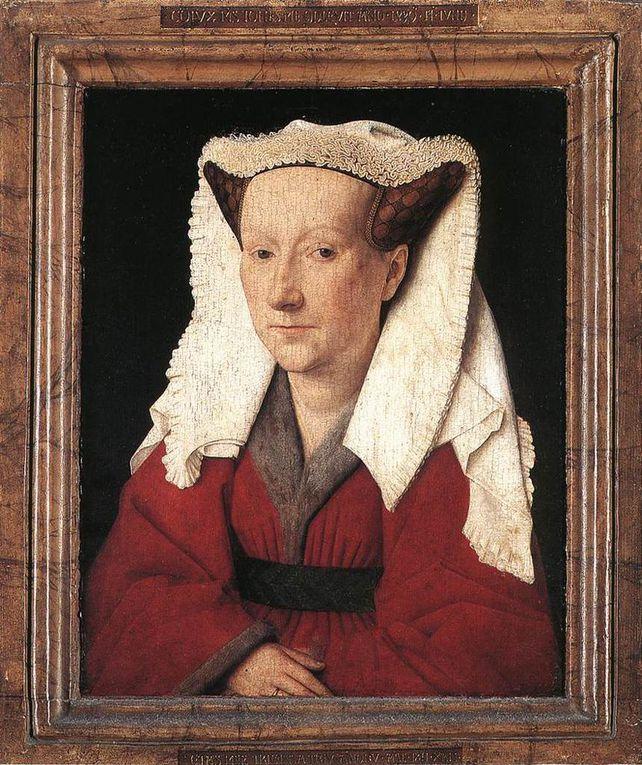 """Musée Groeninge : Portrait de Philippe le Bon et oeuvres de Jan van Eyck et de Gérard David : """" Le jugement de Cambyse""""."""
