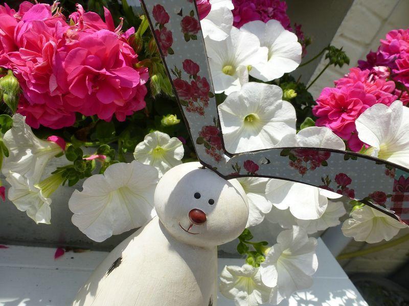 A l'heure des fleurs....