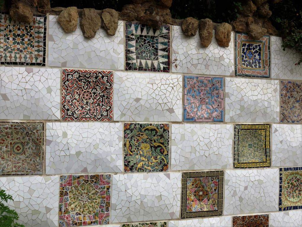 Patchwork de mosaiques....