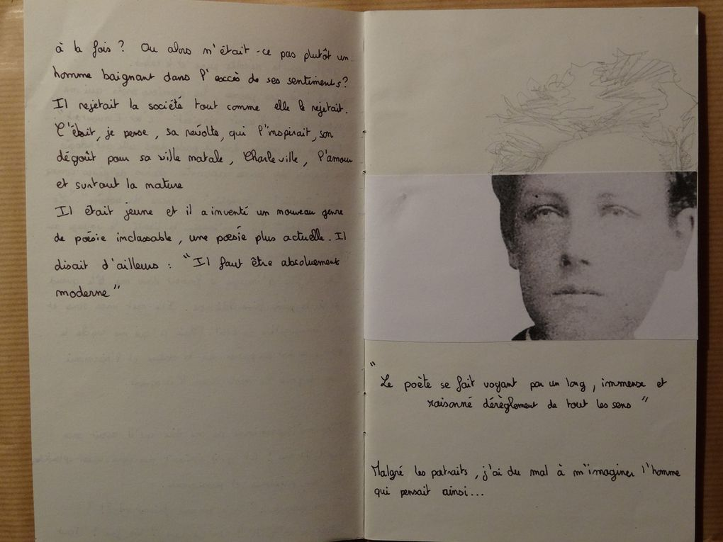 Anthologies &quot&#x3B;Mon Rimbaud&quot&#x3B; - Angèle - 1ES1