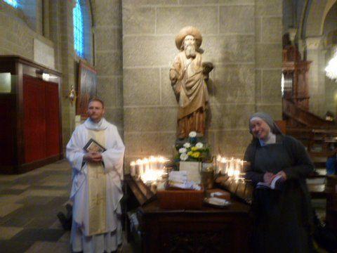 St Jacques de Compostelle avec Gilbert (1)
