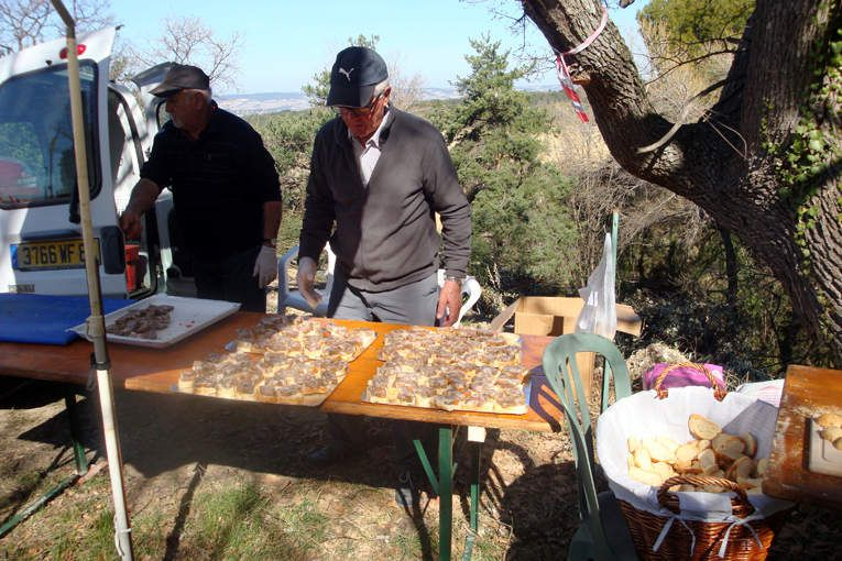 Rando festive de Puyméras