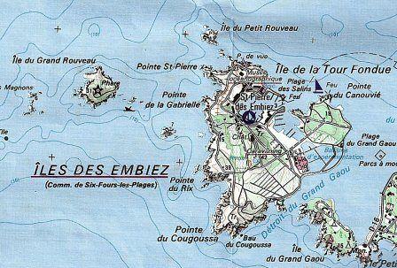Balade sur l'Île des Embiez...