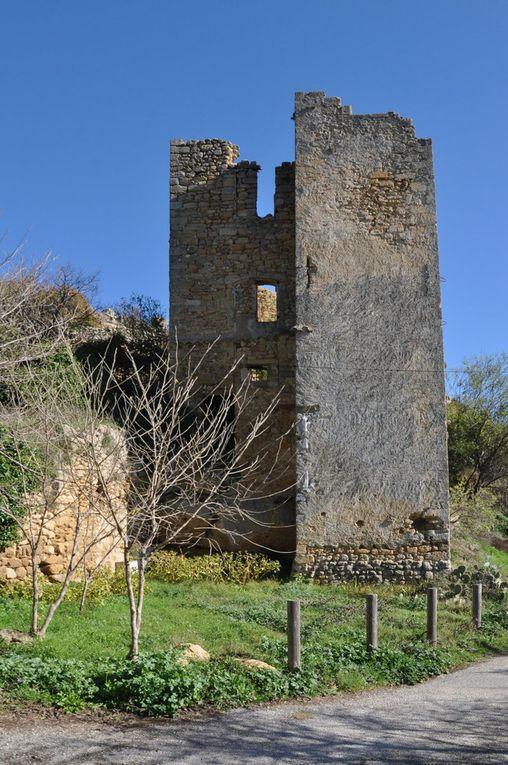 Aurons, Vernègues, Château bas, en rando Tonique!