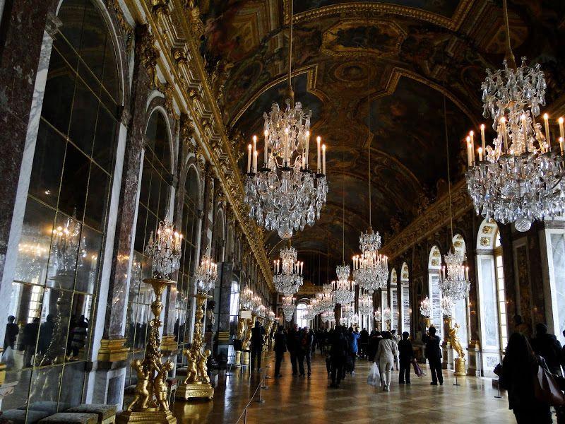 Versailles, visite du château et des jardins...