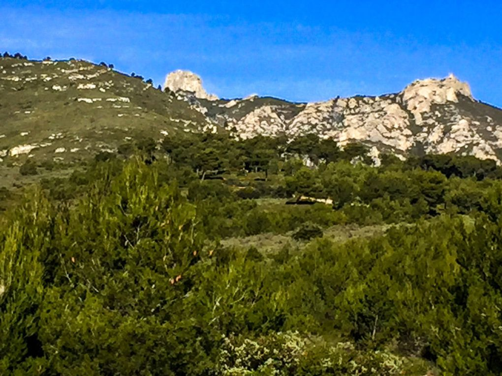 De la Montade, Massif de l'Etoile...