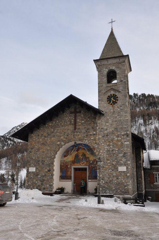 Séjour raquettes à Montgenèvre (2)