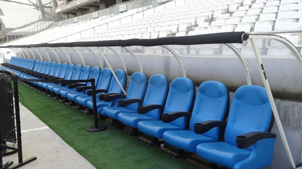 Première rando culturelle, le Stade Vélodrome..