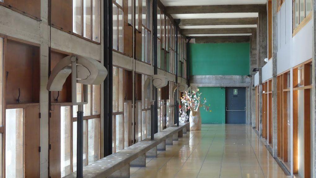 Visite de la &quot&#x3B;Cité radieuse&quot&#x3B;....