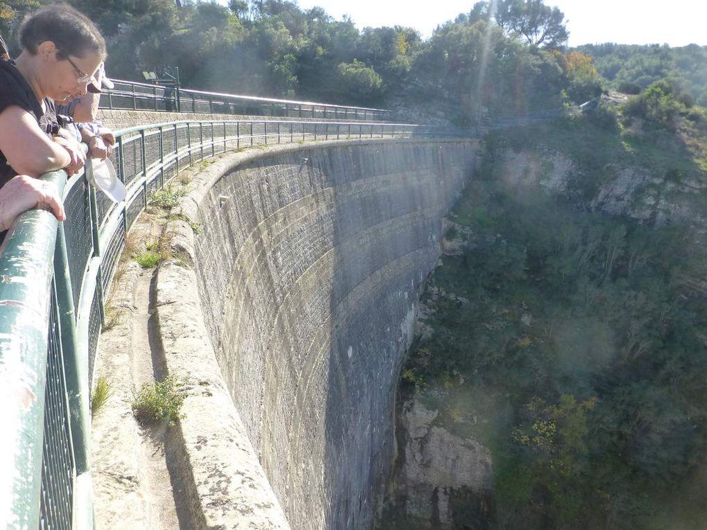 Du Tholonet, barrage Zola, aqueduc Doudon, Moulin Cézanne...