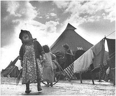 Camps de réfugiés juifs en Israël