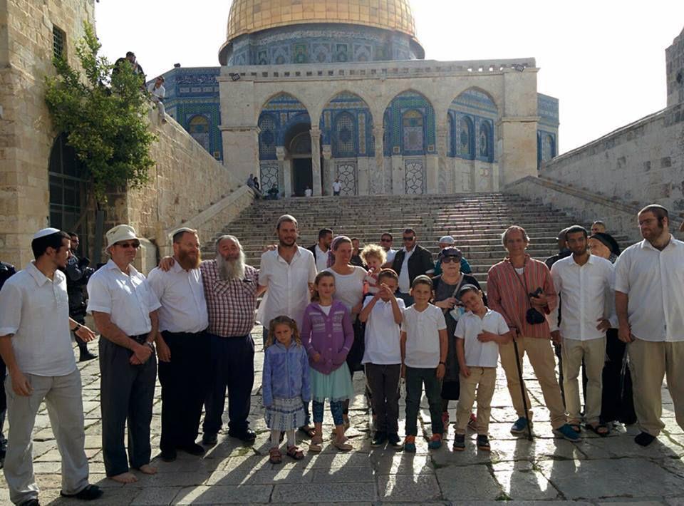 Esplanade des mosquées et Mont du Temple