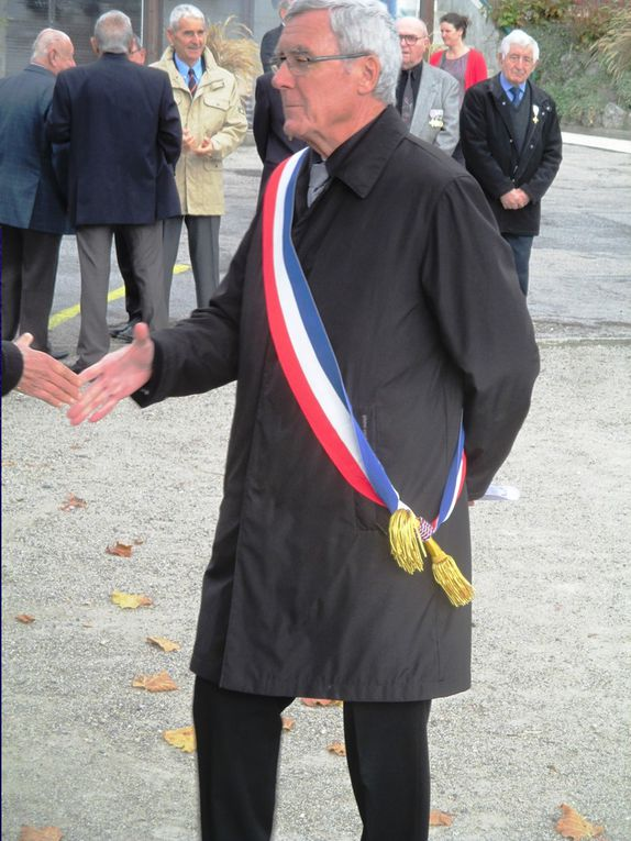 Commémoration de l'armistice du 11 Novembre 1918 à Biviers