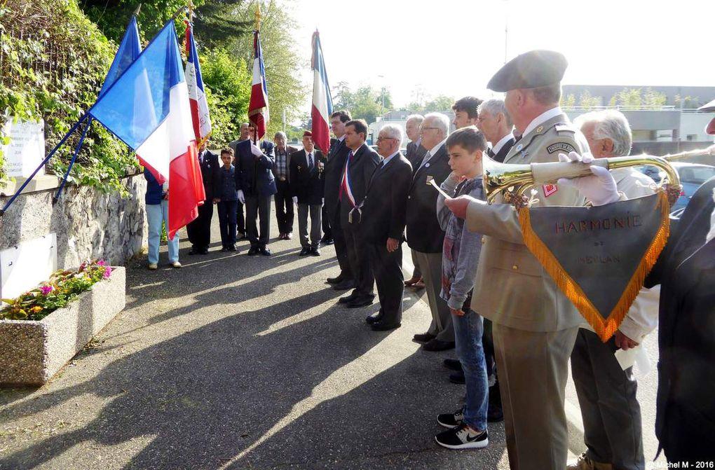 Célébration  du 8 mai 1945 à la Détourbe