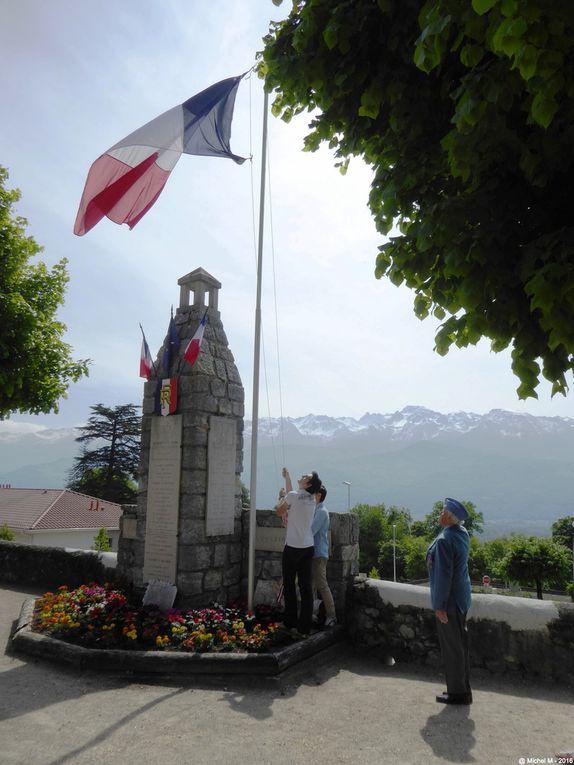 Célébration du 8 mai 1945 à Biviers
