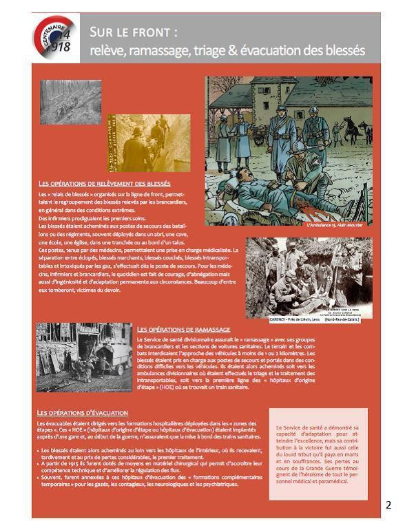 Premières images de l'inauguration de la remarquable exposition sur le service de Santé dans la Grande Guerre