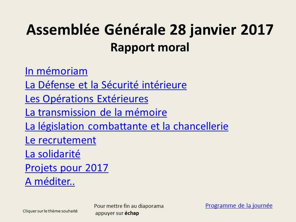 Rapport Morale
