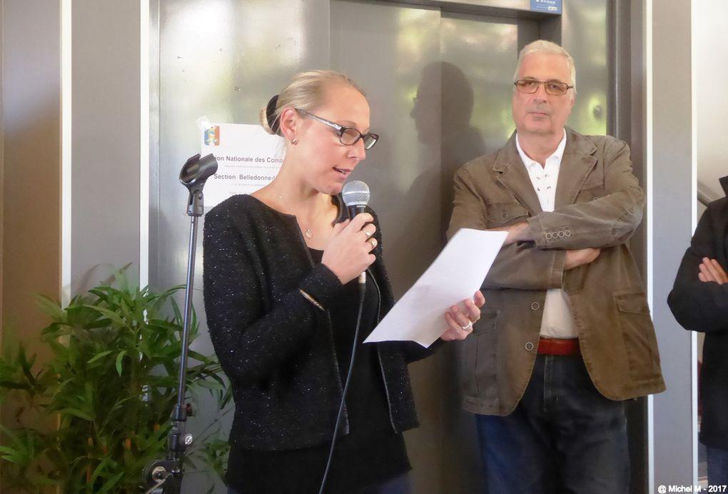 Vernissage de l'exposition sur les OPEX à Domène