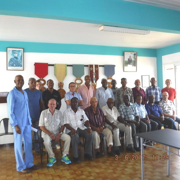 Visite à l'UNC GUYANE à Cayenne