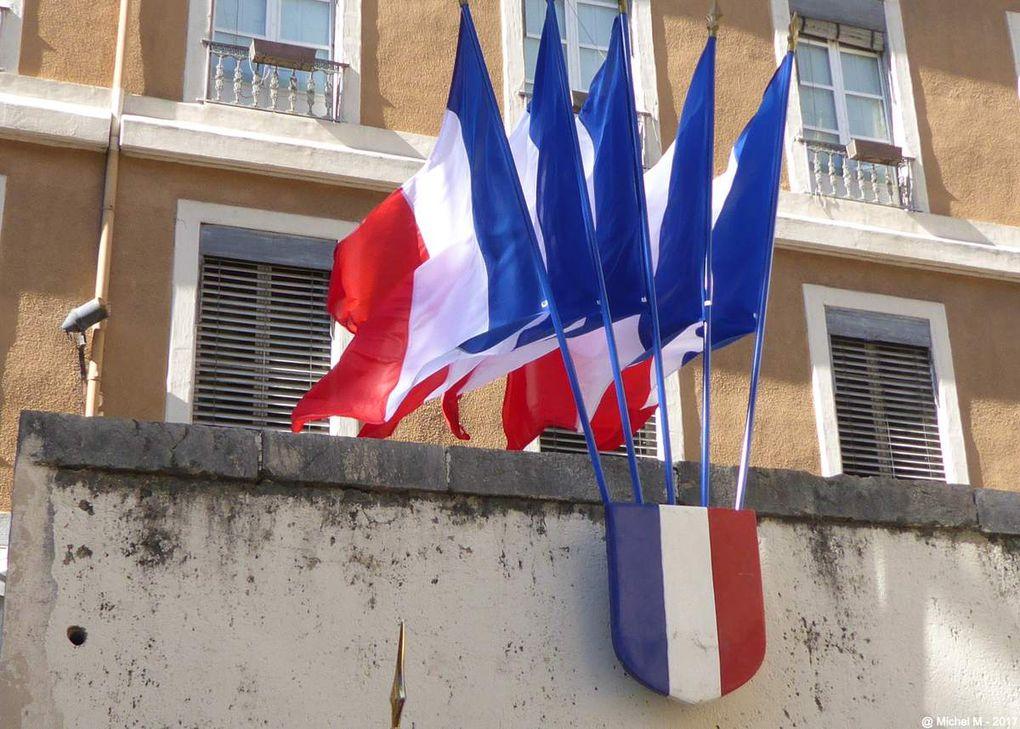 Grenoble : commémoration Jardin de Ville et Mairie