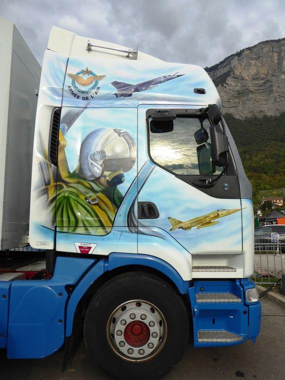Camion Armée de l'Air à la coupe Icare