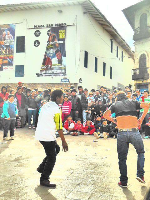Le Centre ville de Cuzco ... et la fête !