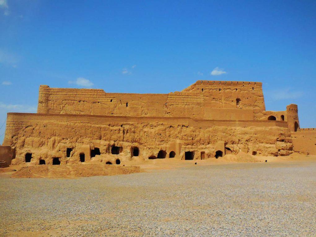 la citadelle de Meibod - une réserve d'eau - la citerne