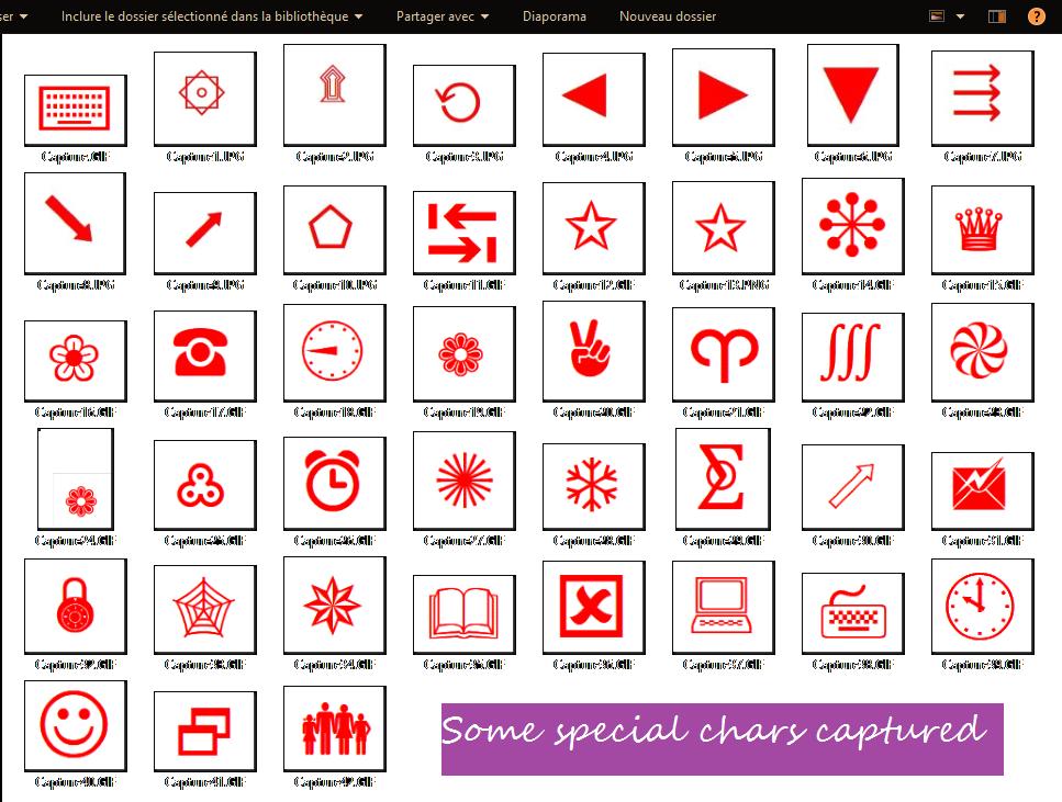 A Visual Foxpro Charmap Visual Foxpro Codes