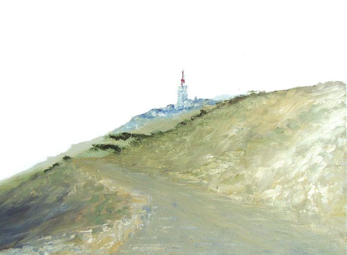 dessins (encre de Chine, aquarelles, crayon gras, ...), peintures à l'huile