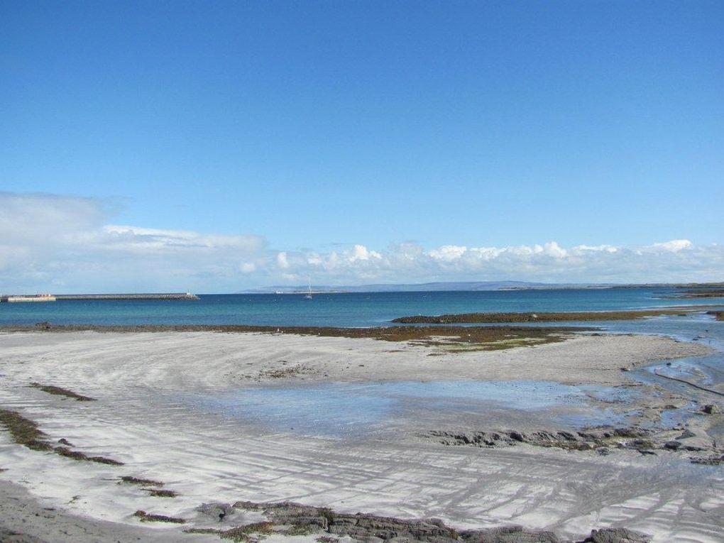 Images d'Inishmore sous le soleil ! Cliquer sur les flèches pour faire défiler les photos...