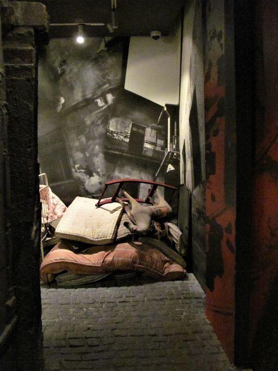 Dans le musée Oskar Schindler (cliquer pour faire défiler les images)