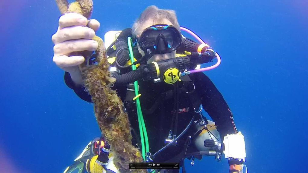 """Yvon, en plongée recycleur à Marseille et lors d'une formation trimix """"Mission Tamaya"""" sur épave en Martinique avec Aquadomia en février"""