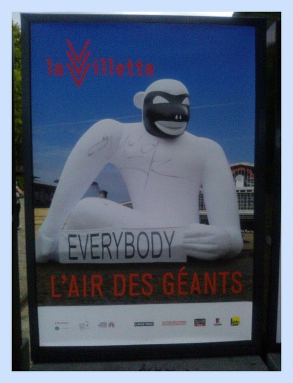 L'Air des géants à La Villette.