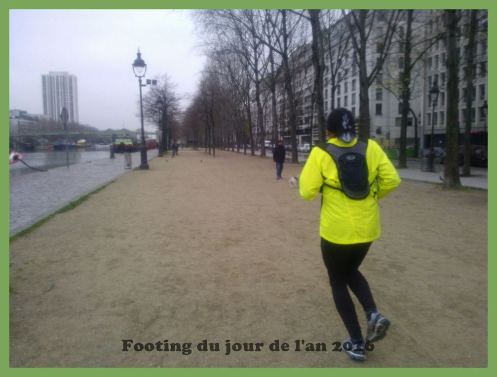 Footing du Jour de l'An 2016.