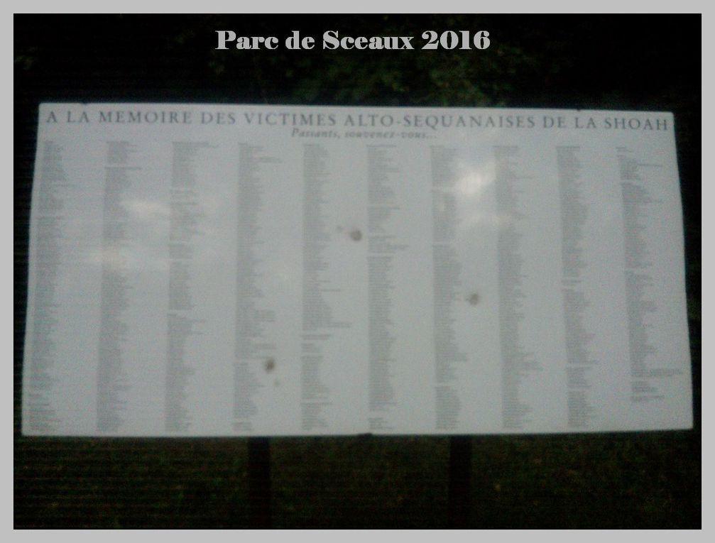 Parc de Sceaux 2016.
