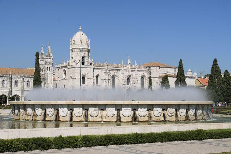Lisbonne (quartier de Belém) mosteiro dos Jeronimos (cliquez pour dérouler)